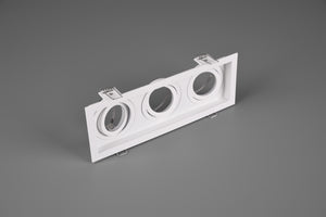 Kenai - Triple Recessed White