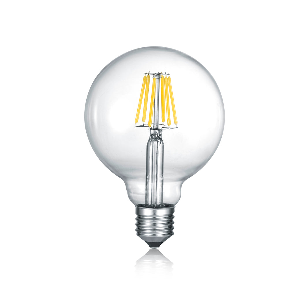 E27 CLEAR GLOBE LED Bulb (Med)