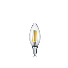 Load image into Gallery viewer, E14 LED FILAMENT Candle Bulb 4 Watt