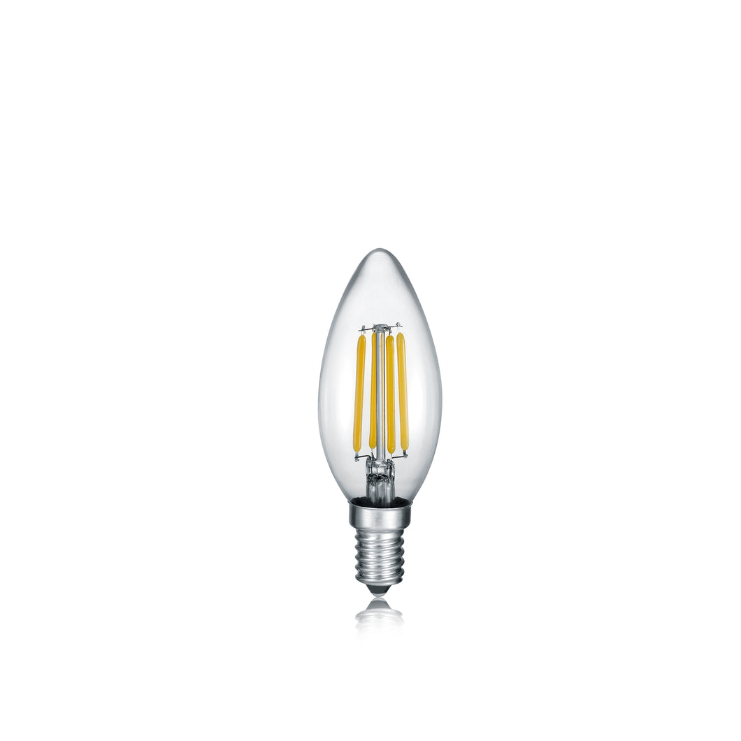 E14 LED FILAMENT Candle Bulb 4 Watt