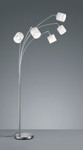 Load image into Gallery viewer, Tommy - Nickel & White Floor Lamp