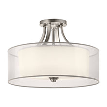 Load image into Gallery viewer, Hazelmere 4 Light Semi-Flush Mount - Antique Pewter