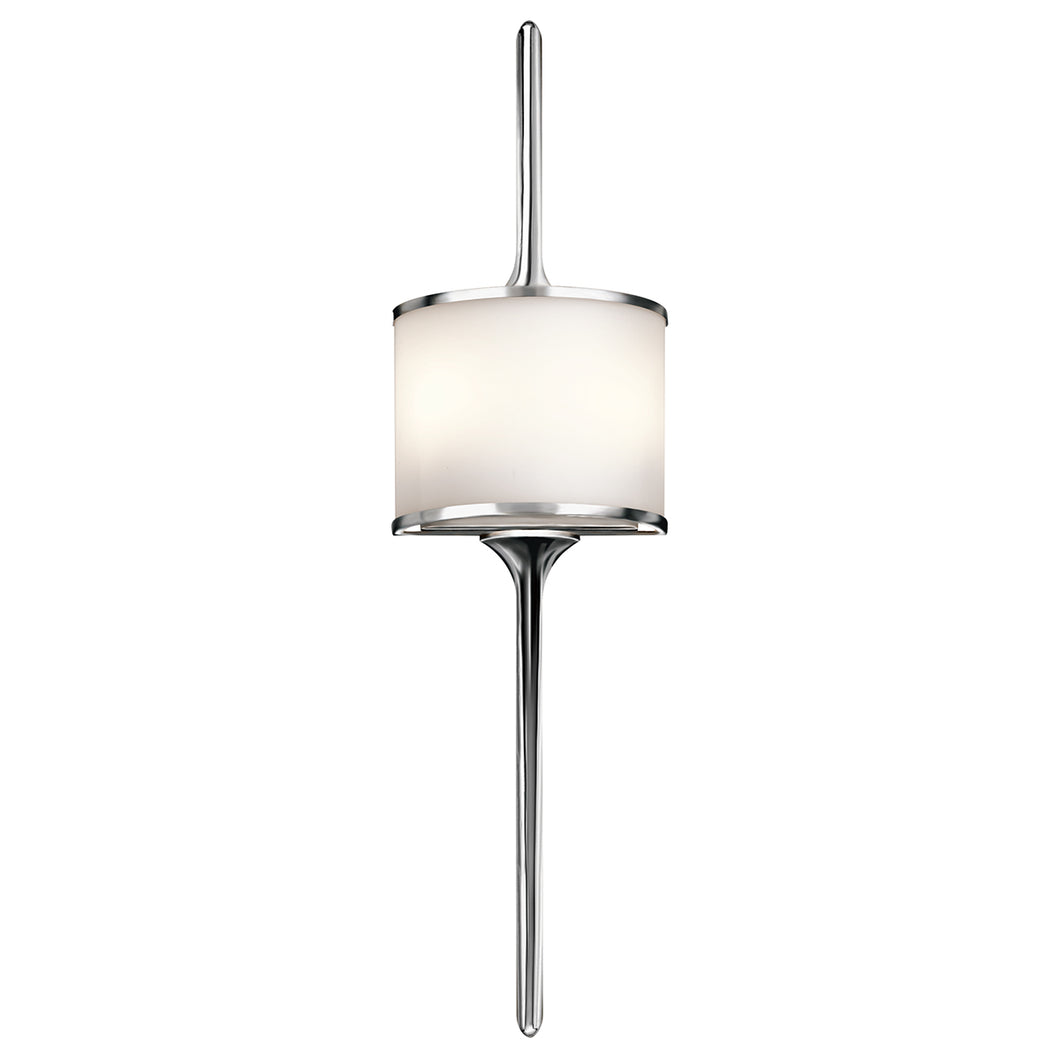 Margot 2 Light Wall Light - Polished Chrome
