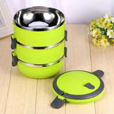 2006_Easy Lock Stainless Steel Lunch Box 3 Layers