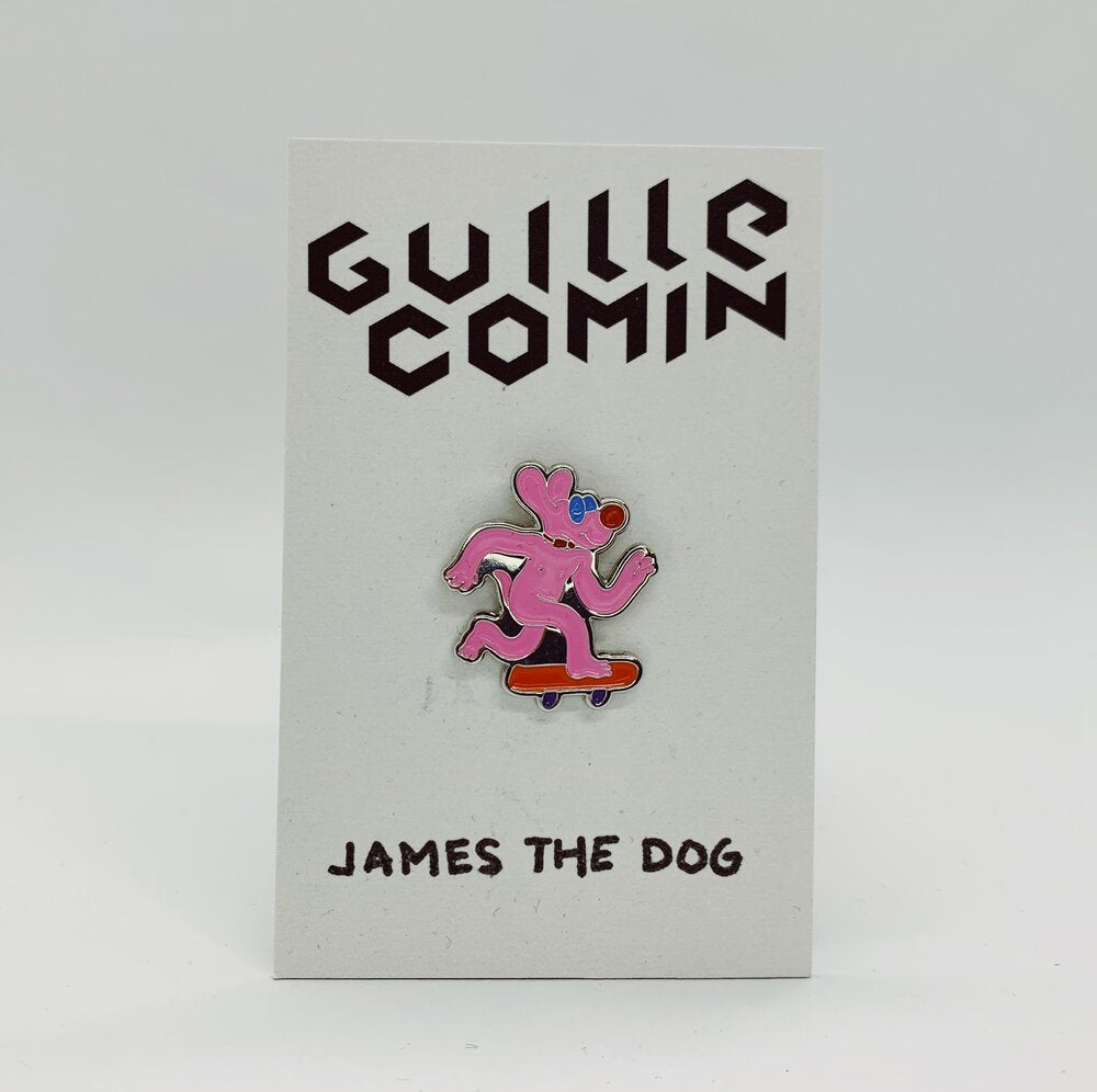 James the Dog Pin
