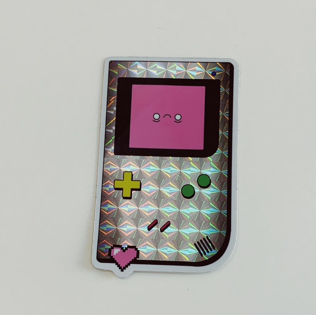 GameBoy Holographic Sticker