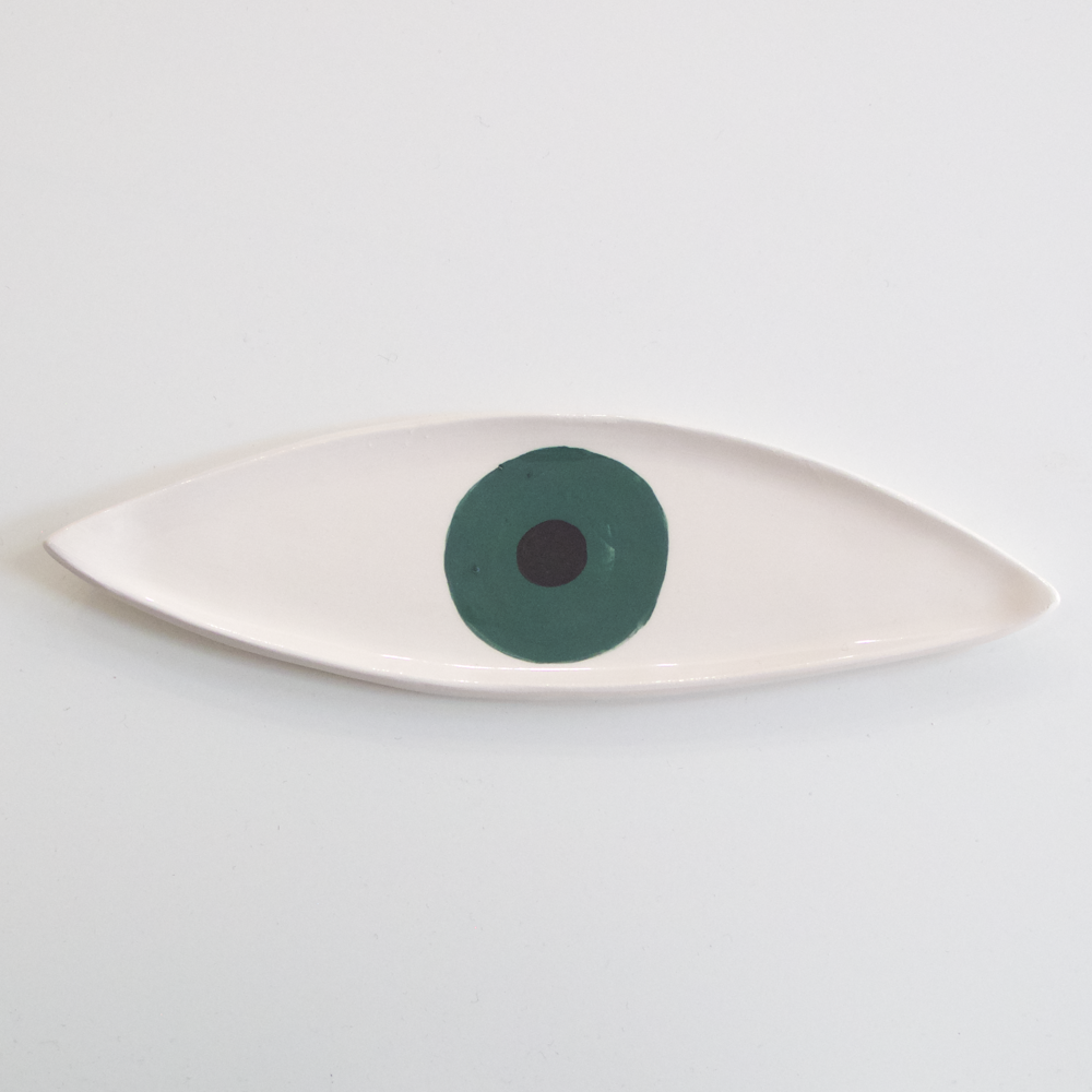 Eye Plate - Dark Green