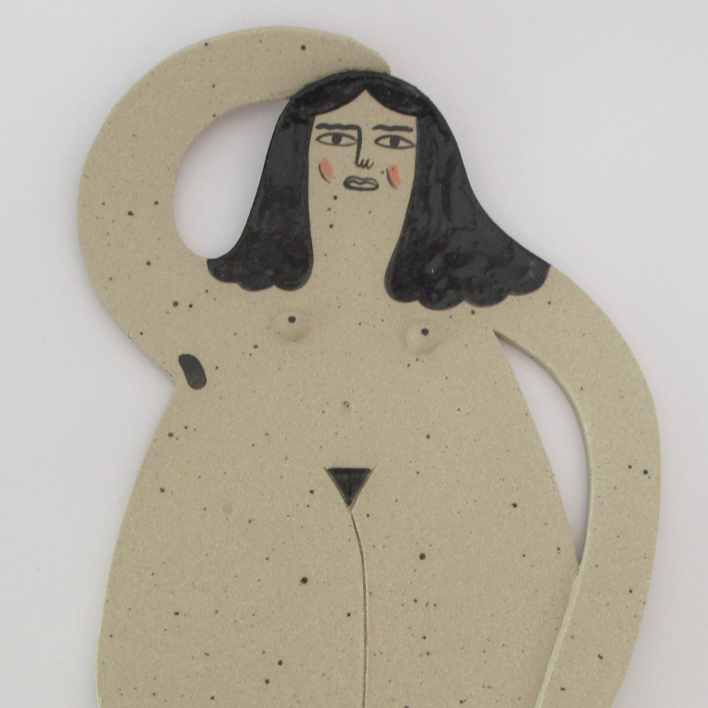 Nude Lady Plate