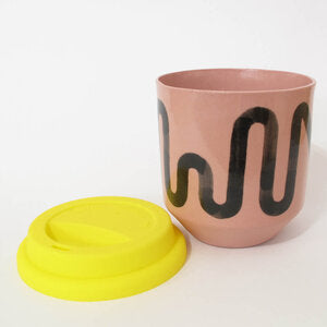 Moment Travel Cup in Pink