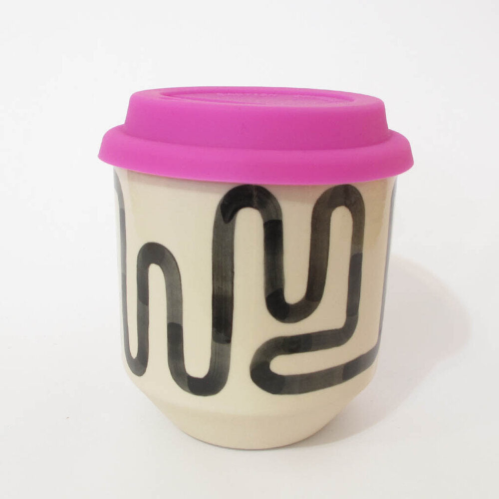Moment Travel Cup in Cream