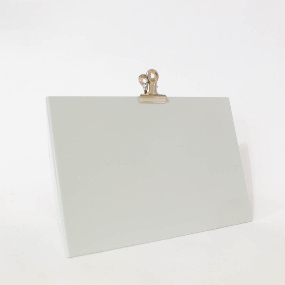 Medium Light Grey Clipboard Frame
