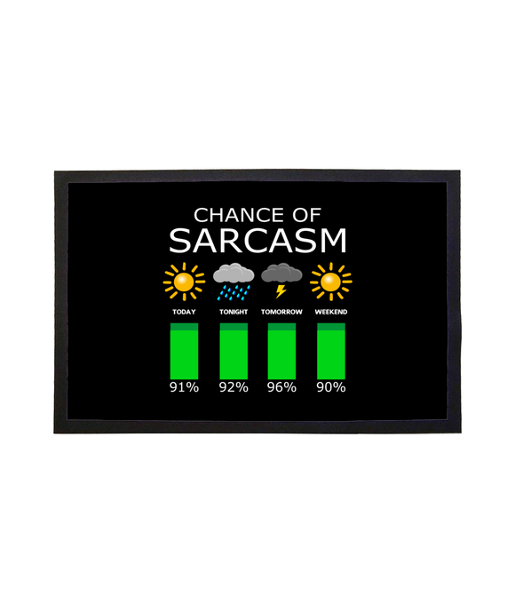 Chance of Sarcasm - Doormat