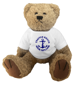 Trained Killer Royal Navy Cook - Teddy Bear