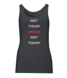 Not Today Satan - Jersey Vest