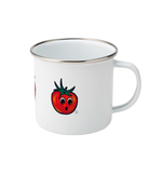 Surprised Tomato - Enamel Mug