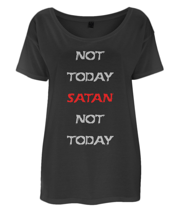 Not Today Satan - Oversize T-Shirt