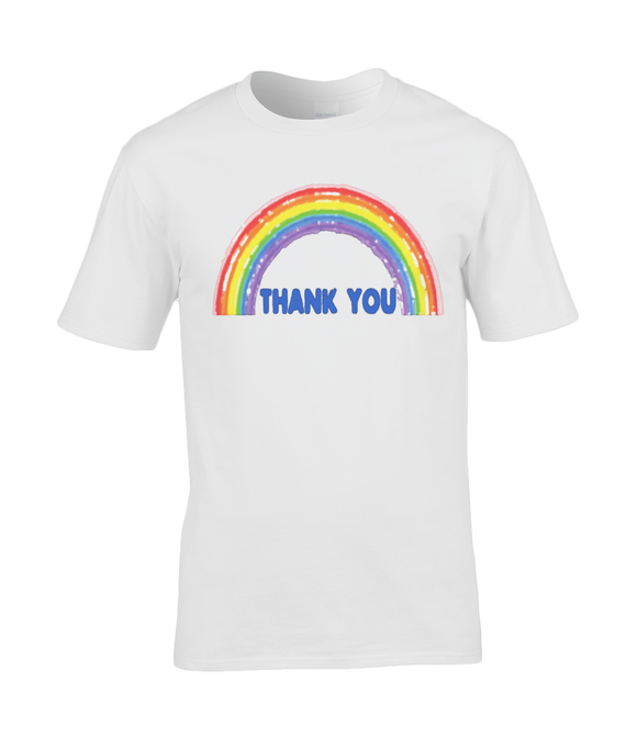 Thank You Rainbow T-Shirt % Profits to NHS
