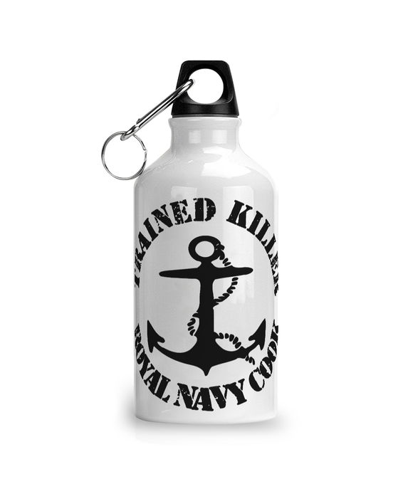 Trained Killer Royal Navy Cook - Waterbottle