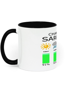 Chance of Sarcasm - Mug