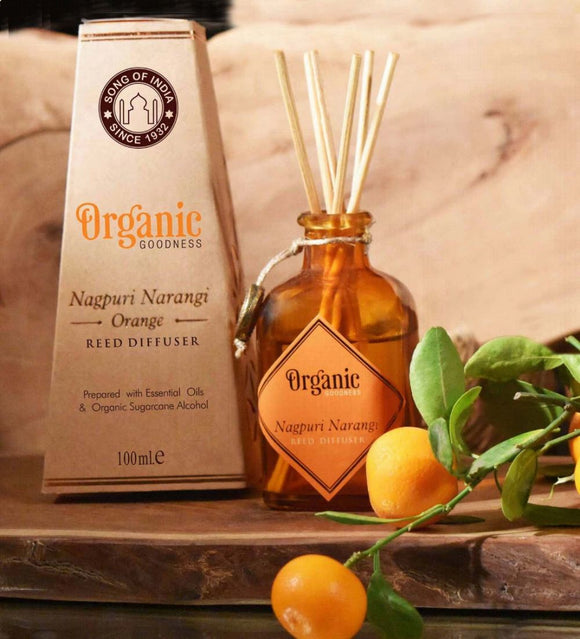 Song of India - Organic Goodness Diffuser - Nagpuri Narangi Orange