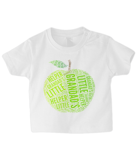 Grandad's Little Helper - Baby T-Shirt