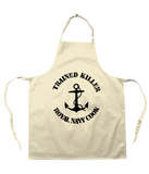 Trained Killer Royal Navy Cook - Apron