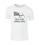 Once Navy always Navy - T-Shirt