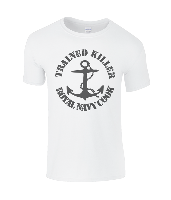 Trained Killer Royal Navy Cook - T-Shirt