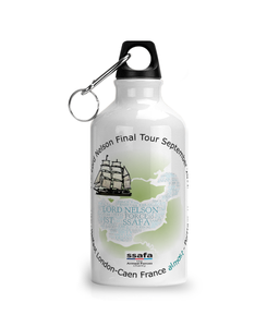STS Lord Nelson - Aluminium Sports Water Bottle