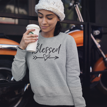 Load image into Gallery viewer, Blessed Unisex Sweatshirt