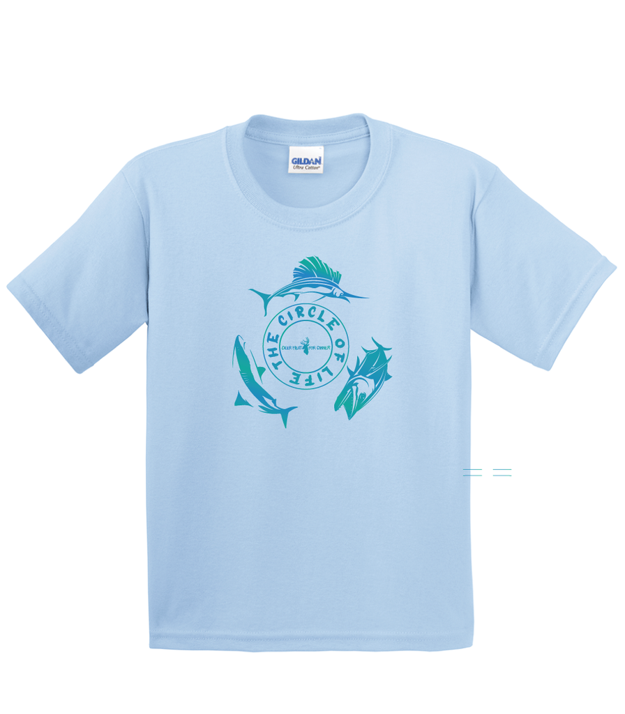 Gradient - Circle of Life Youth Short Sleeve