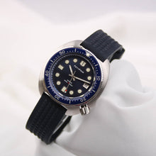 Load image into Gallery viewer, 6015 Turtle Homage Blue Dial Stainless Steel Case NH35A Movt 30ATM Water Resistant