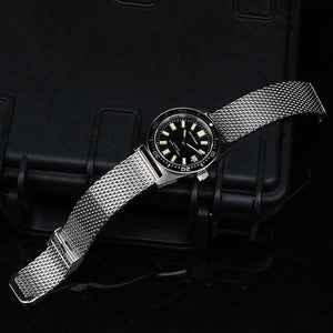 Mesh band 6217 Homage Solid Stainless Steel Band