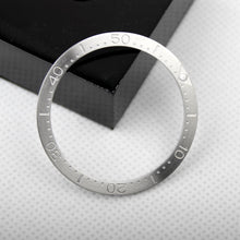 Carica l'immagine nel visualizzatore di Gallery, 38mm stainless steel insert fits skx007 MM200 Circle brush