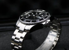 Load image into Gallery viewer, 1000meter Water Resisstant Diver Watch Black Dial Rolex Homage 116600