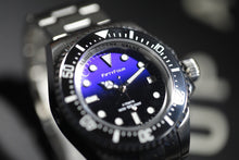 Load image into Gallery viewer, Blue Sea Deweller 116600 Homage NH35A Mechanical Sold band 100ATM Water Resistant