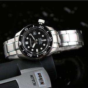 Seagull Movt 44mm SBDX001 Homage Black Divemaster Automatic MM300 Marinemaster