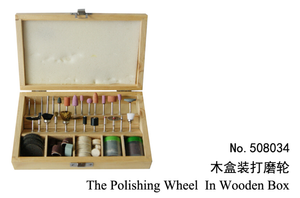 Polishing Wheel in Wooden box