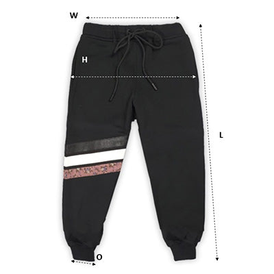Men's Jogger Pants Size Chart