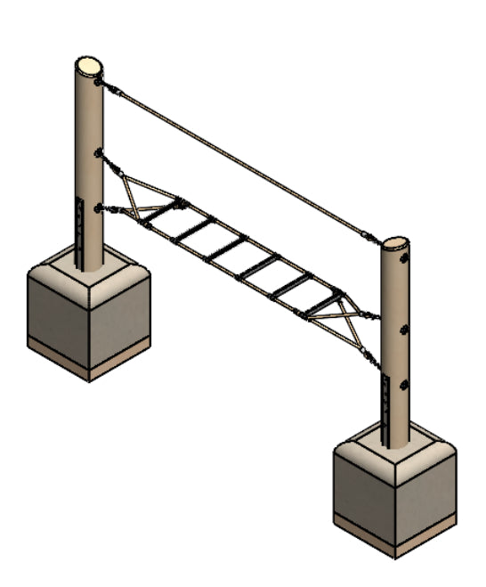 Ladder Assembly/Balance Rope (4591-2)