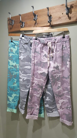 Trouser - Camouflage Print - Magic