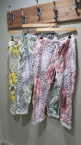Trousers - Animal Mix Print - Magic