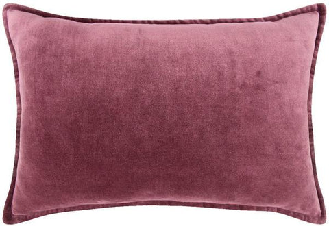 Cushion - 45 cm x 45 cm - Velvet - Purple
