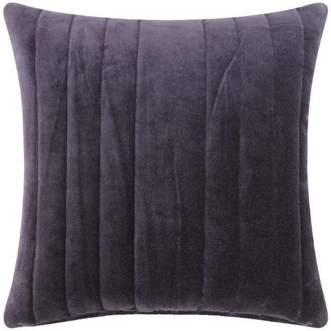 Cushion - 45 cm x 45 cm - Stripe Velvet - Navy
