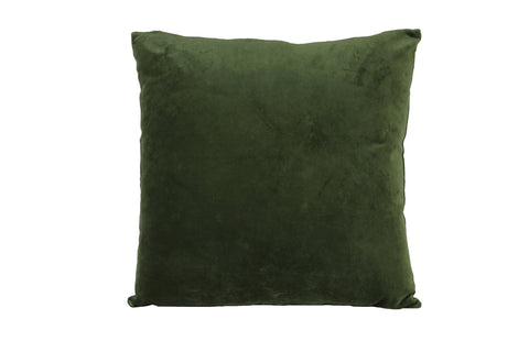 Cushion - 50 cm x 50 cm - Khios - Velvet Olive Green
