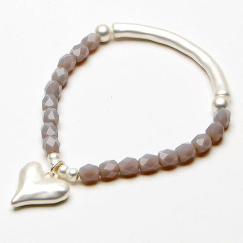 Bracelet - Heart Decoration
