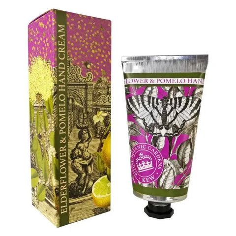 Kew Gardens Hand Cream - Elderflower and Pomelo - 75ml