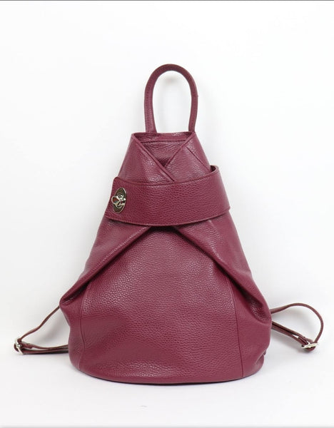 Leather - Backpack Bag