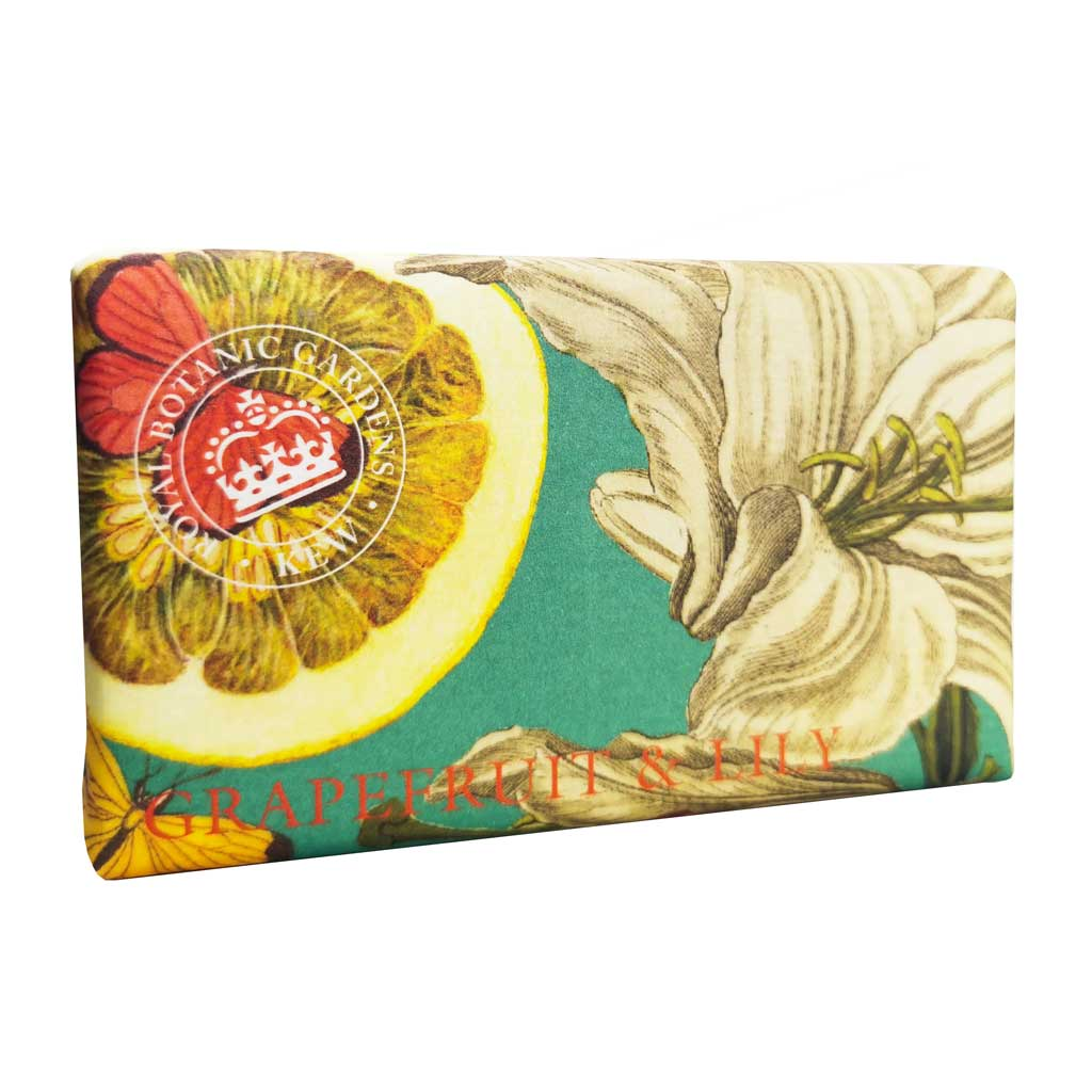 Kew Gardens Soap - Grapefruit and Lily - 240g