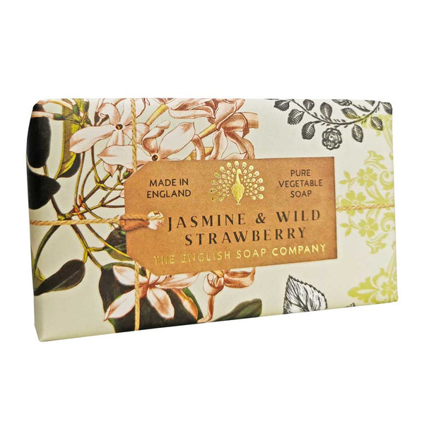 Soap - Anniversary Jasmine and Wild Strawberry Soap - 190g